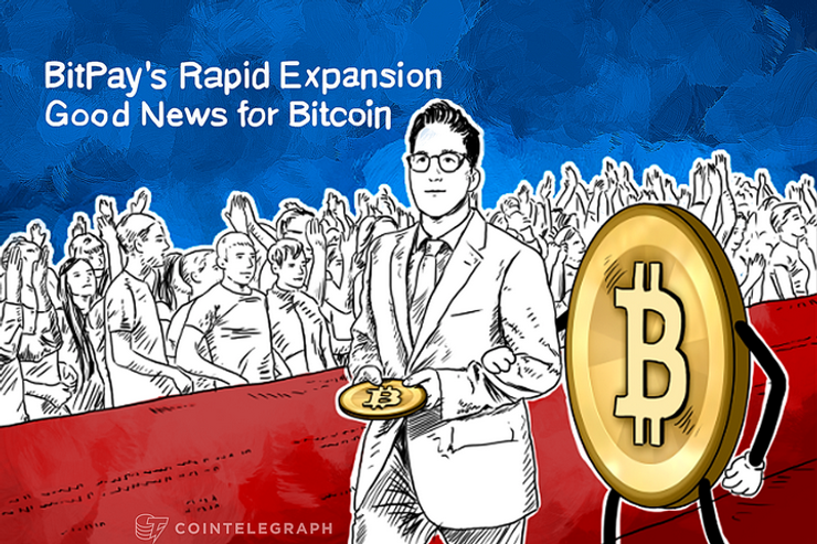 BitPay's Rapid Expansion Good News for Bitcoin