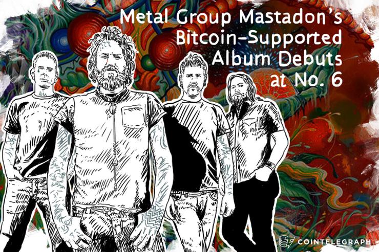 Metal Group Mastadon's Bitcoin-Supported Album Debuts at No. 6