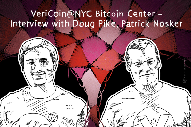 VeriCoin@NYC Bitcoin Center – Interview with Doug Pike, Patrick Nosker