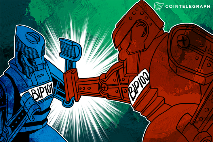 Bitcoin Block Battle: Top Corporations Support BIP 101 as Debate Rages On