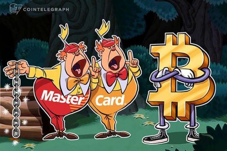 """""""ماستركارد"""" منفتحة أمام العملات الرقمية """"غير المجهولة"""" الصادرة عن الدولة، وأي عملات أخرى هي """"تراهات"""""""