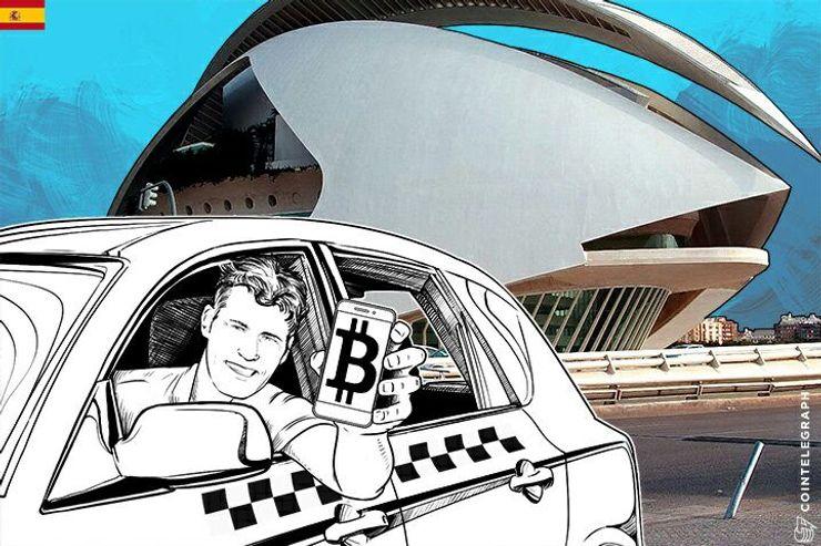 Un taxista en Valencia ha aparcado el miedo y ha apostado por aceptar bitcoins