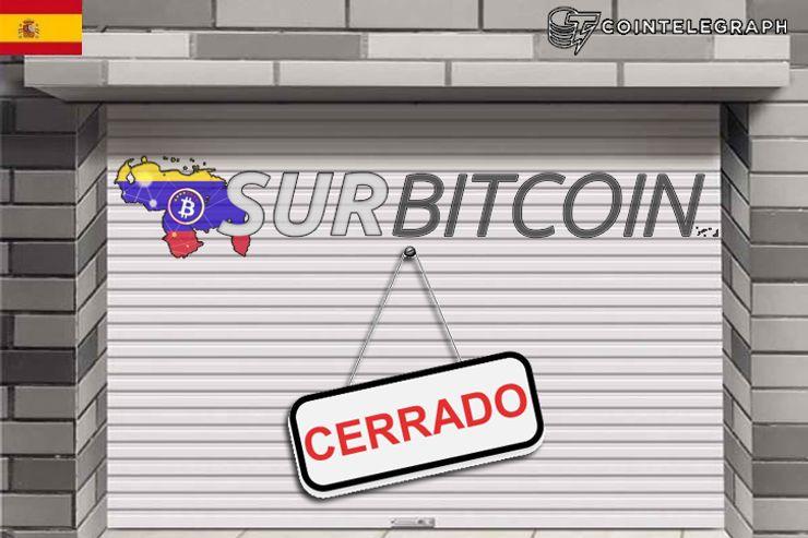 Surbitcoin paraliza servicios en medio de una complicada situación para el Bitcoin en Venezuela