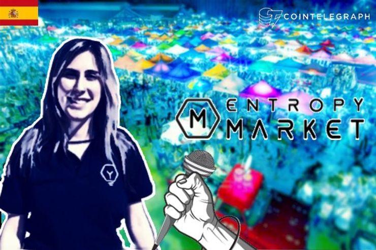 Entrevista a Sheila Mundo sobre EntropyMarket, un Marketplace descentralizado donde de paga con bitcoins.