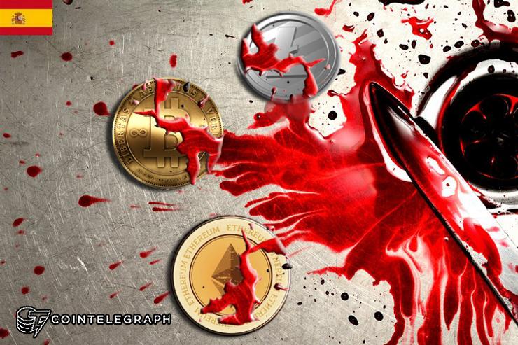 El mercado de las criptomonedas se tiñe de rojo
