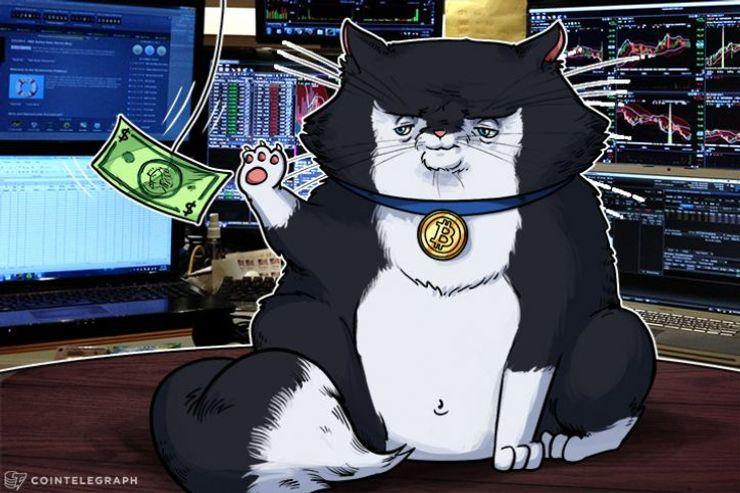 暗号通貨の取引量が43億ドルに到達
