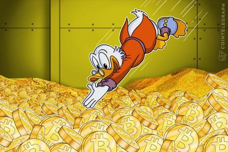 韓国でビットコイン価格が2,850ドル台ヘ突入