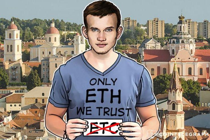 Vitalik Buterin氏、ETCがETHの価値を上回ったとしてもサポートしないとの意向を発表