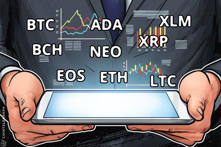 Análise de Preços, 14 de Fevereiro: Bitcoin, Ethereum, Bitcoin Cash, Ripple, Stellar, Litecoin, NEM, NEO e EO