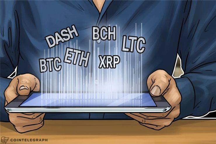 Análise de preço, 09 de dezembro: Bitcoin, Ethereum, Bitcoin Cash, Ripple, Litecoin e Dash