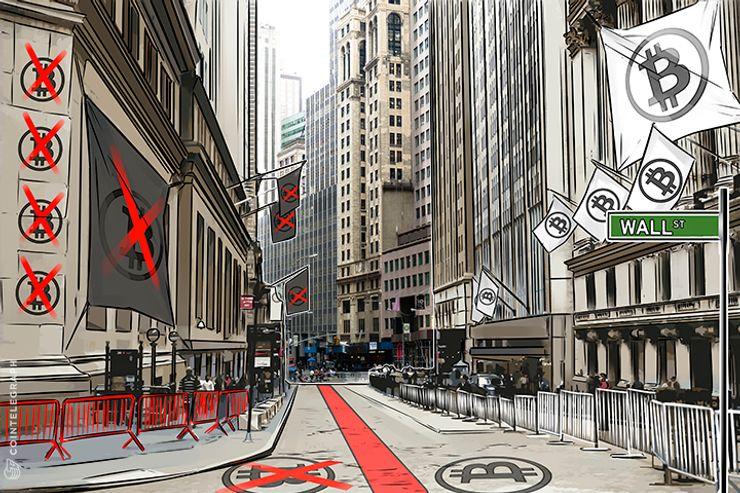 Grande divisão sobre o Bitcoin em Wall Street