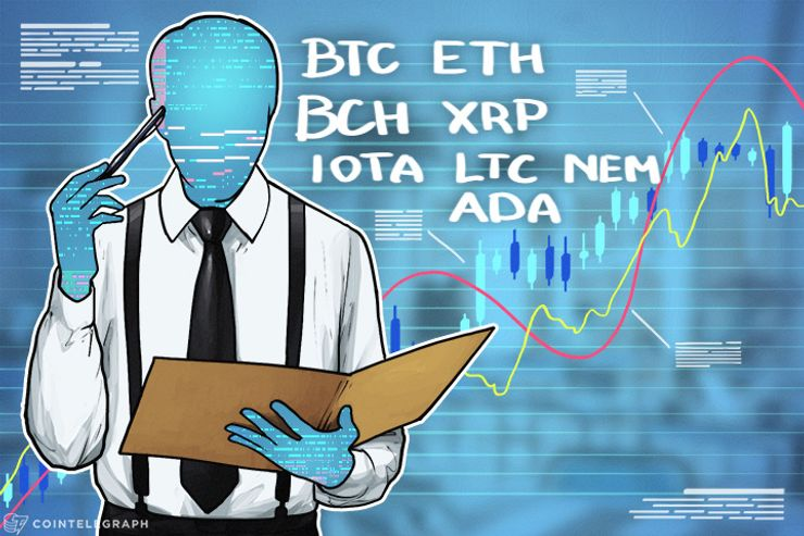 Price Analysis, Jan 16: Bitcoin, Ethereum, Bitcoin Cash, Ripple, IOTA, Litecoin, NEM, and Cardano