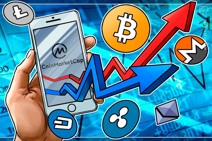 A Rebranded CoinMarketCap Launches IOS App In Honor Of Its 5th Birthday