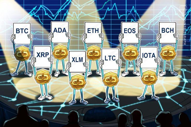 Bitcoin, Ethereum, Ripple, Bitcoin Cash, EOS, Litecoin, Cardano, Stellar, IOTA: Price Analysis, June 22
