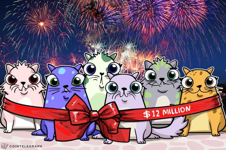 Las ventas de CryptoKitties alcanzaron los $12 millones, podría ser la aplicación de Ethereum que arrasa después de todo