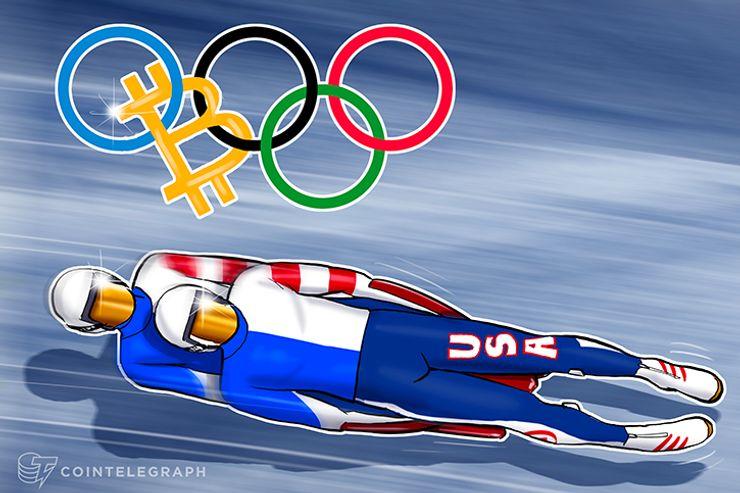 Luge abrindo caminho para o Bitcoin nas olimpíadas de inverno