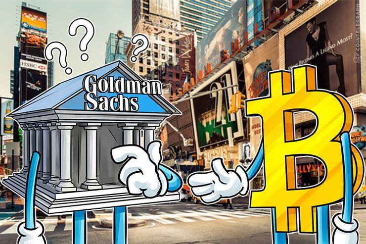 Goldman Sachs: Ainda não negociando Bitcoin, mas ainda interessado