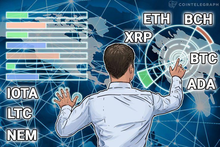 Price Analysis, Jan. 19: Bitcoin, Ethereum, Bitcoin Cash, Ripple, IOTA, Litecoin, NEM, Cardano