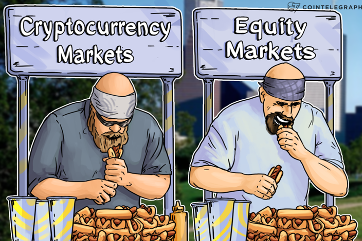 Equity Markets vs. Cryptocurrency Markets: Weekly Performance Review, Feb. 5 - 11