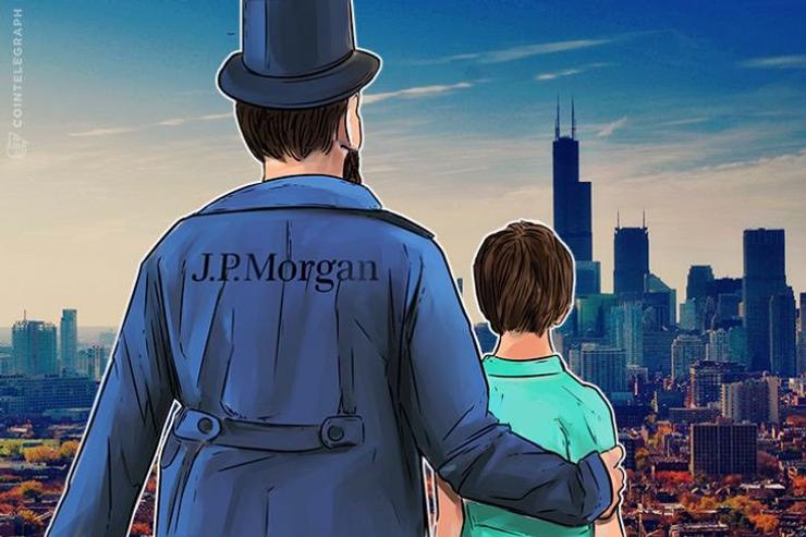 """Laut J.P. Morgan wird Krypto """"wahrscheinlich nicht verschwinden"""""""