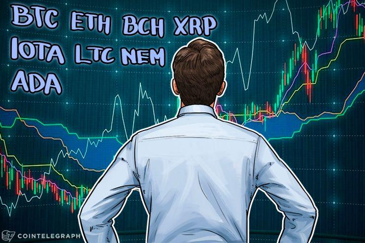 Análise de preços, 12 de janeiro: Bitcoin, Ethereum, Bitcoin Cash, Ripple, IOTA, Litecoin, NEM e Cardano