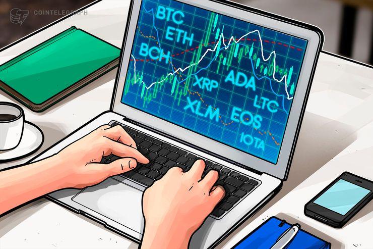 6月11日 仮想通貨チャート分析:ビットコイン、イーサリアム、リップル、ビットコインキャッシュ、EOS、ライトコイン、カルダノ、ステラ、IOTA