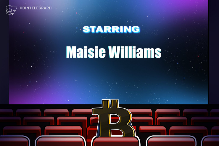 Actress Maisie Williams becoming the newest Bitcoiner?