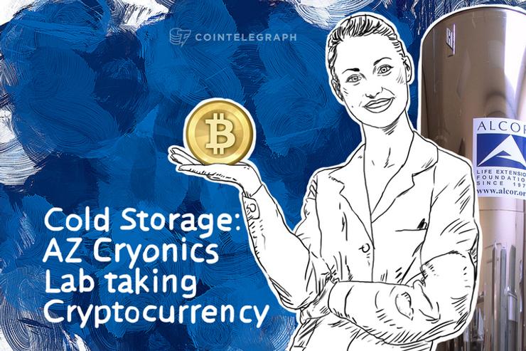 Cold Storage: AZ Cryonics Lab taking Cryptocurrency