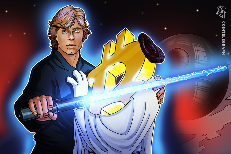 Bitcoin Wars: Si la historia de la Blockchain fuera la trilogía original de Star Wars