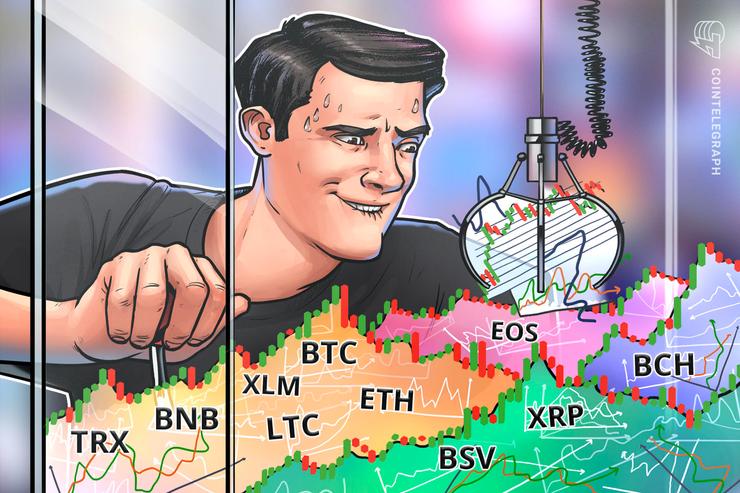 BTC、7700ドルが攻防ラインに 仮想通貨ビットコイン・イーサ・リップル(XRP)のテクニカル分析【価格予想】