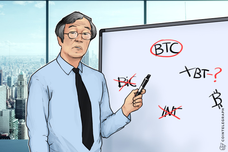 How Should We Abbreviate Bitcoin and Ether?