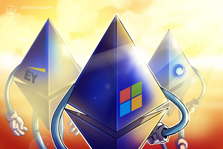 EY, Microsoft and ConsenSys Launch Enterprise Platform on Ethereum Mainnet