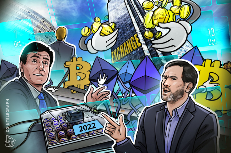 Telegram Bombshell, Zuckerberg to Testify, Ripple Row: Hodler's Digest, Oct 7–13 thumbnail