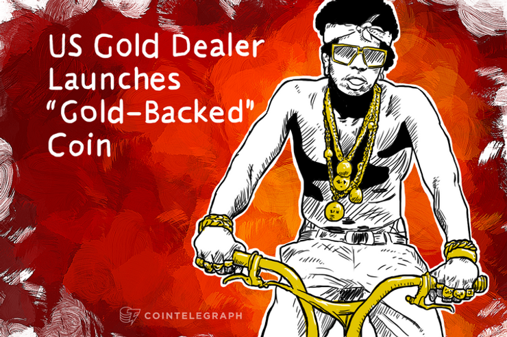 """US Gold Dealer Launches """"Gold-Backed"""" Coin"""