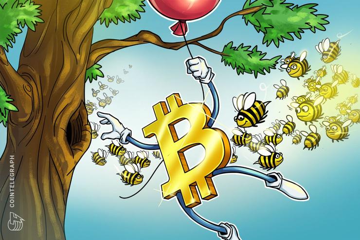 仮想通貨ビットコイン、心理的節目の1万ドルまでカウントダウン