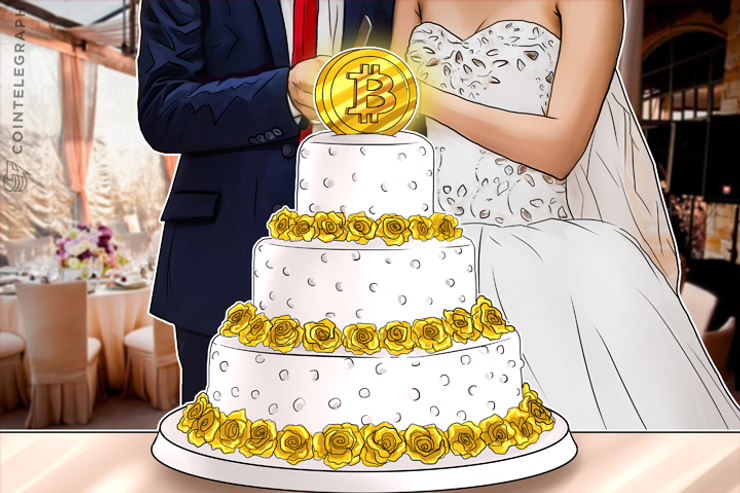 Pure Bitcoin Beats Fine China On US Wedding Registries