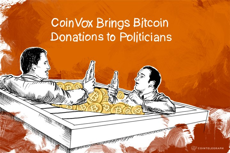 CoinVox Brings Bitcoin Donations to Politicians