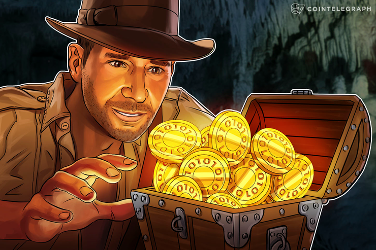 Indiana Jones found ICO tokens