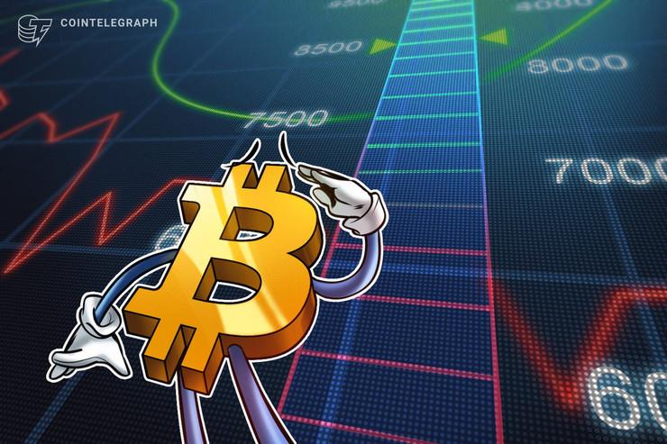 仮想通貨ビットコインは8000ドルに大きな抵抗 150万アドレスが損益分岐で売りに走る?
