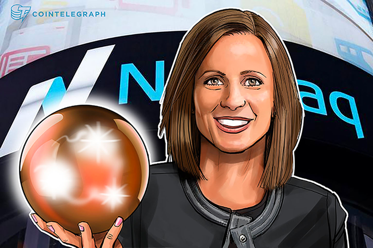 Nasdaq CEO Says Company 'Open' To Becoming Crypto Trading Platform When Market Matures