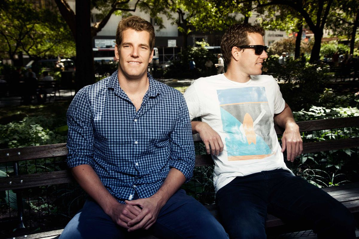 Winklevoss Brothers Hold 1% Of All Bitcoins
