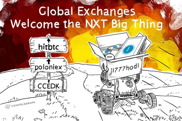 Global Exchanges Welcome the NXT Big Thing