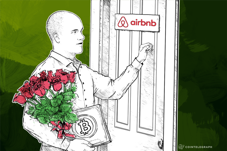 Airbnb Warming to Bitcoin, Invites Coinbase to HQ