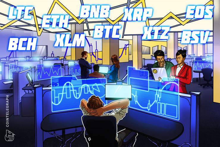 Price Analysis 5/4: BTC, ETH, XRP, BCH, BSV, LTC, BNB, EOS, XTZ, XLM