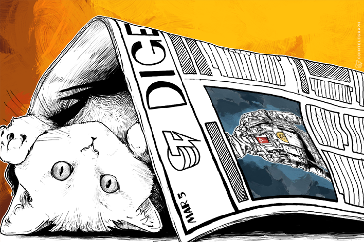 MAR 5 DIGEST: Coin Brief Writer Arrested Over ISIS Link, Silk Road BTC Auction Begins Today