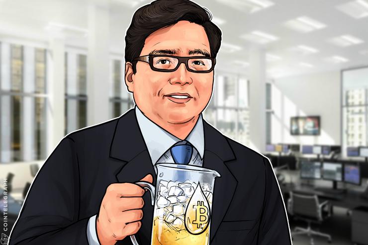"Fundstrat-Mitbegründer Tom Lee erinnert an ""10 stärkste Tage"""