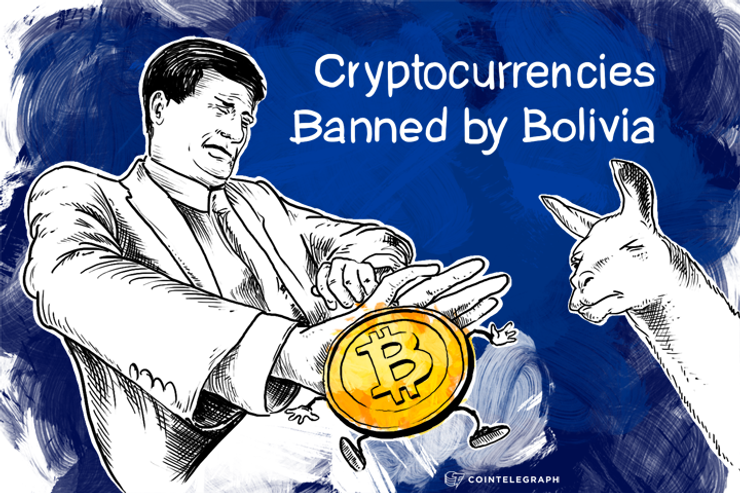Cryptocurrencies Banned by Bolivia