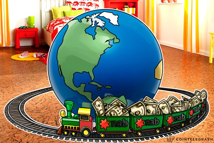 Across the World in 10 Sec: National Australian Bank Sends $10 Using Blockchain