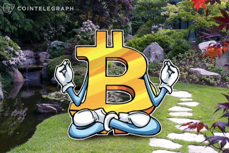 Preço do Bitcoin relaxado faz os negociantes olharem para o céu à medida que a capitalização de mercado flerta com os US $ 150 bilhões