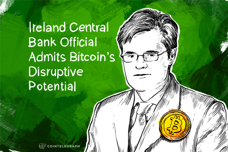 Ireland Central Bank Official Admits Bitcoin's Disruptive Potential